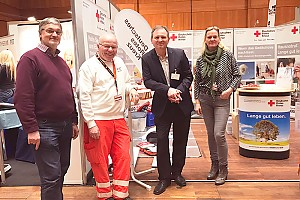 Messestand des DRK Reutlingen