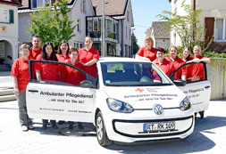 Team des Ambulanten Pflegedienstes